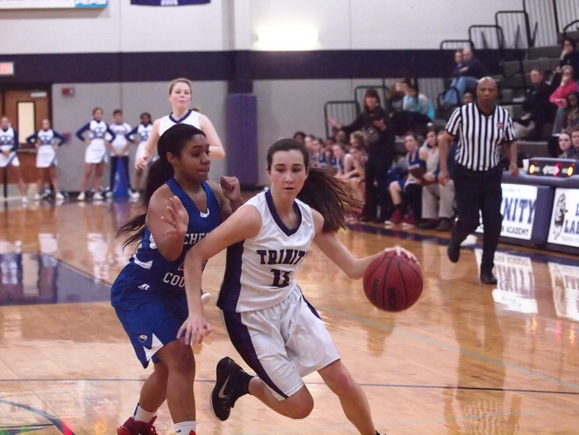 Lytle, shown here in a game last year, scored 42 points in an overtime win last month over West Carroll.