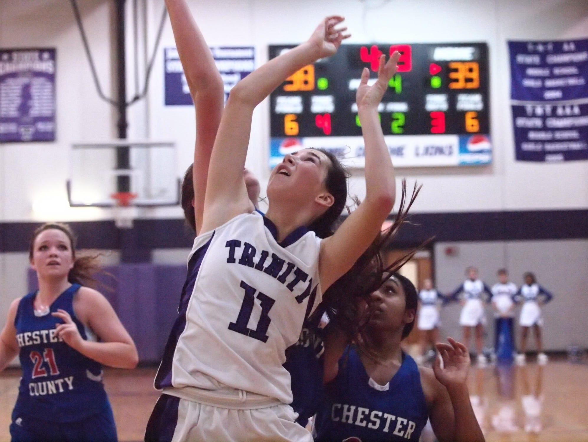 Brynne Lytle is Trinity Christian Academy's all-time leading girls' basketball scorer.