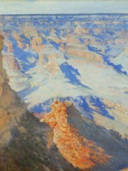 """Grand Canyon"" by José Arpa y Perea, 1925"