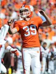 Former Clemson place-kicker Chandler Catanzaro, a Greenville