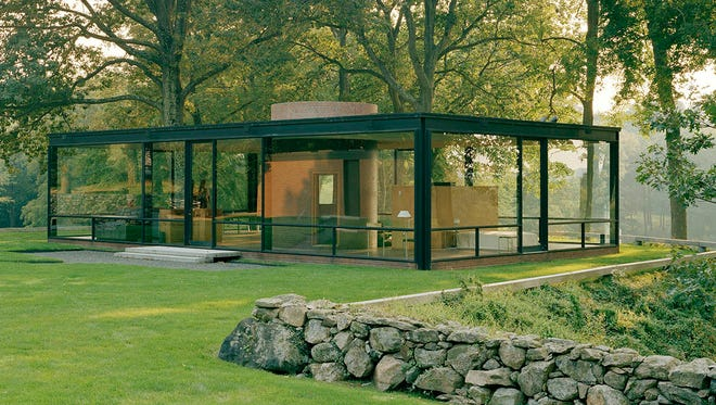 Architect Philip Johnson's Glass House in New Canaan, Conn., for the first time is open for self-guided tours, allowing visitors to linger on the property.