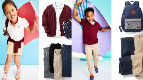 Uniform essentials at a great price.