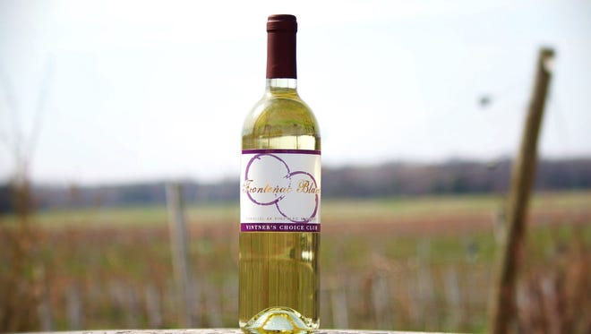 Frontenac Blanc from Parallel 44 winery in Kewaunee is one of the first wines in the country to be made from the grape of the same name.