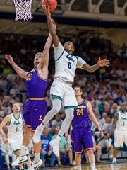 FGCU senior guard Brandon Goodwin, the ASUN Player of  the Year, would love to help lead the Eagles to the NIT Final Four in Madison Square Garden.