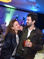 Lea Mysius and Paul Guilhaume attend the 29th Annual Palm Springs International Film Festival Closing Night Party at the Renaissance Hotel