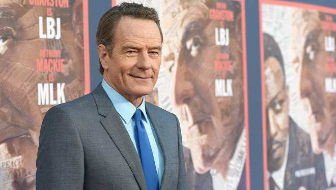 "Bryan Cranston attends the ""All The Way"" Los Angeles premiere on May 10."