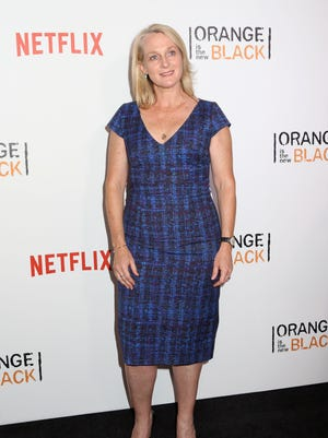 "Piper Kerman attends the New York premiere of the fourth season of Netflix's ""Orange Is the New Black"" on June 16, 2016. She will visit Springfield April 22."