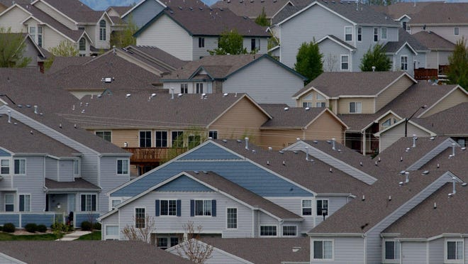 A view of homes in southeast Fort Collins. June 1 is the deadline to file property tax protests with the county.
