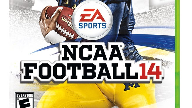 Michigan's Denard Robinson is on the cover of the last NCAA Football 14 game. EA will not produce the game next year.