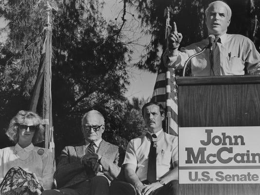 John McCain in 1986