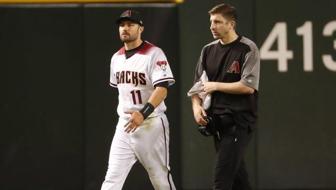 Diamondbacks center fielder A.J. Pollock hasn't played since leaving a game on May 14.