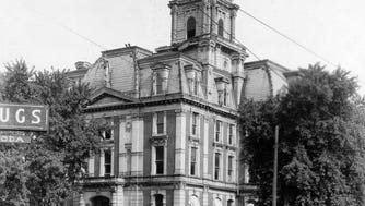 Hamilton County Courthouse in Noblesville in 1925.
