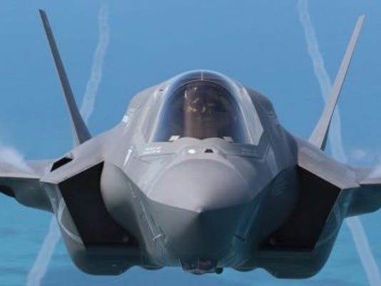 F-35 Lightning II Take To The Skies