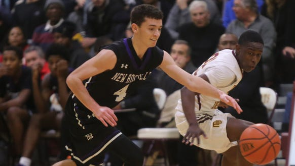 Mount Vernon defeats New Rochelle 69-58 during basketball