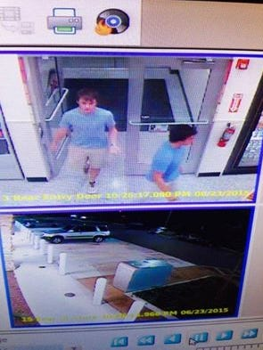 Two msuspects are being sought in connection with the theft of a case of beer from the Wawa Convenience Store on U.S. 41 in Fort Myers