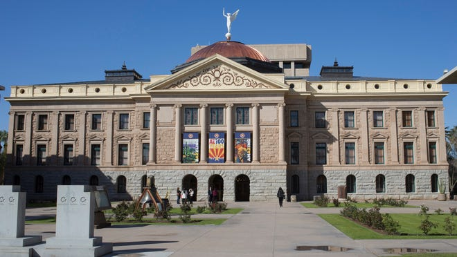 """Legislation ranging from tax measures to lifetime limits on Medicaid health-insurance coverage passed the Arizona House on Thursday, with contentious debate surrounding a """"flex loan"""" bill."""