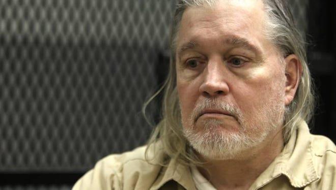 Stephen Scharf interviewed in Trenton State Prison in 2013.