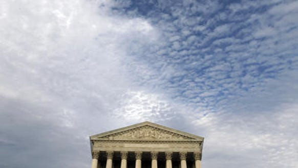 The U.S. Supreme Court and (pictured above it) a higher