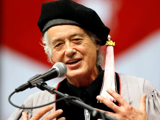 Jimmy Page speech