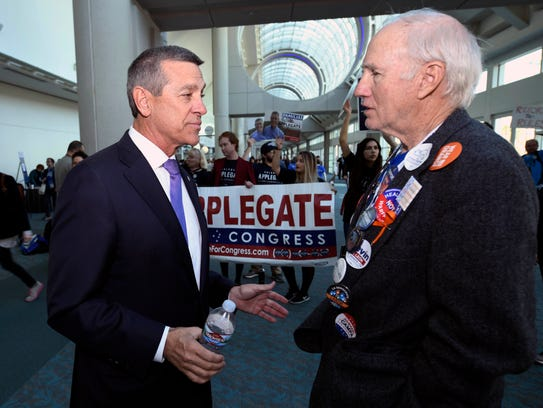 Democratic congressional candidate Doug Applegate,