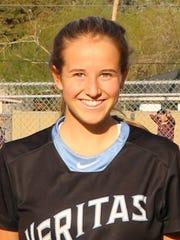 Isabella Gulbranson is a freshman at Phoenix Veritas
