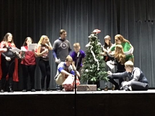 "Jordan Walter's play, ""How the Avengers Saved Christmas"""