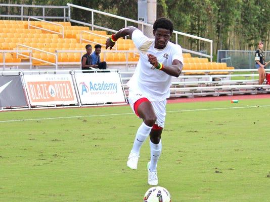 Men's soccer: Hadji Barry