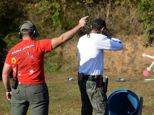 The second annual Shootout for Breast Cancer was held at the Tennessee Sports Foundation in Jackson Saturday morning. Funds raised are used locally to help educate women about breast cancer as well as to provide care bags for women going through treatment.