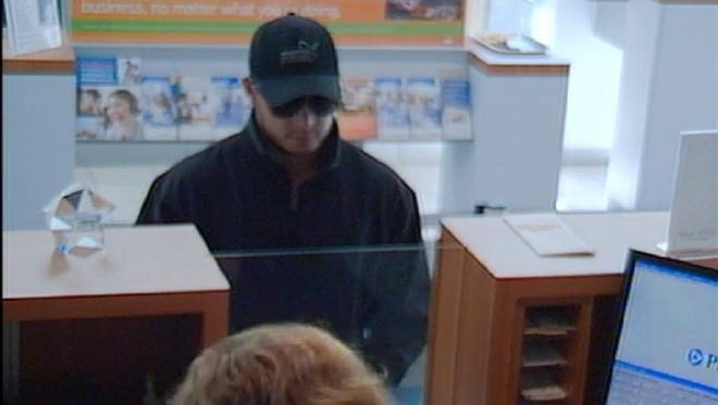 Police are looking for this man in connection with a 2013 robbery at a PNC bank.
