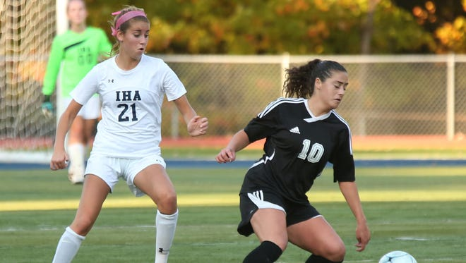 Emma Zabransky (21) will take on a greater role this season for Immaculate Heart.