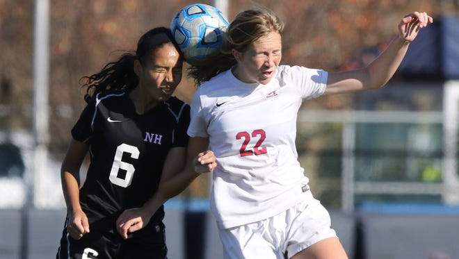 Senior defender Shannen Almenara (6) and Northern Highlands have only allowed one goal in their first five games.