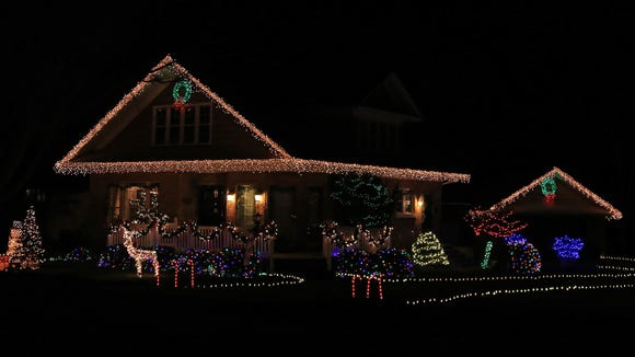 This home at the corner of 400 South and 100 East in Hurricane is back to its festive charms from previous years.