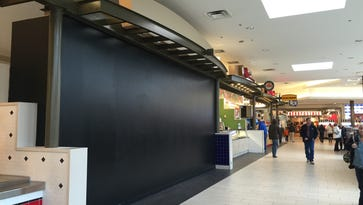 The former Burger King space is one of three food court vacancies at The Empire Mall.