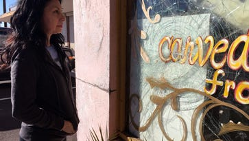 'Show these folks some love': In Phoenix, an outpouring of support after vandals hit Middle Eastern eatery again