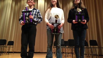 Trio of area middle schoolers advance to state spelling bee