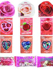 An assortment of Palmer Valentine chocolates.