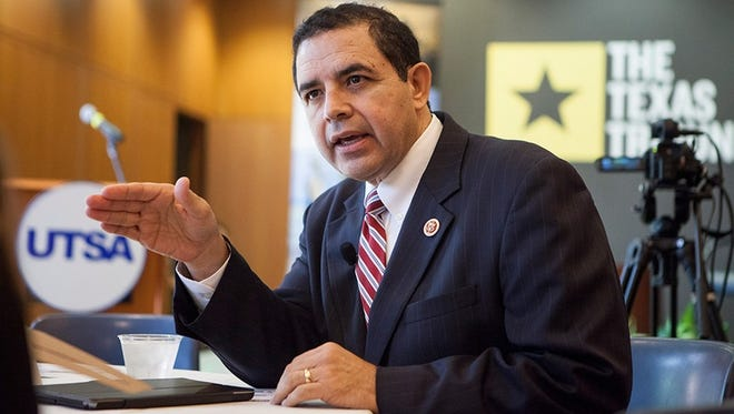 U.S. Rep. Henry Cuellar, D-Laredo, Texas, at a Texas Tribune Event on UT San Antonio Campus, Sept. 24, 2014.
