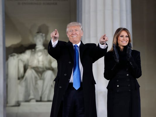 AP APTOPIX TRUMP INAUGURATION A USA DC