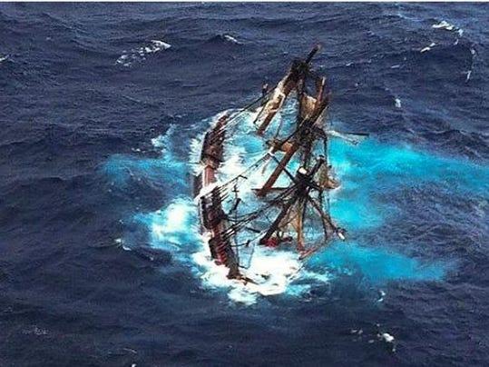 bounty_sinking