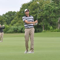 Purdue freshman Jarle Volden has held down the team's No. 5 position most of the season