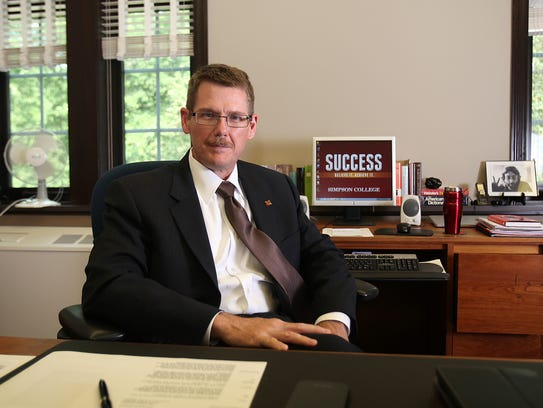 Alabama native Jay Simmons is the new president of