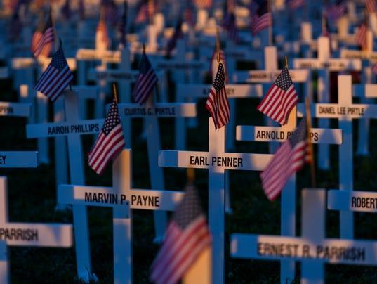 10 Memorial Crosses