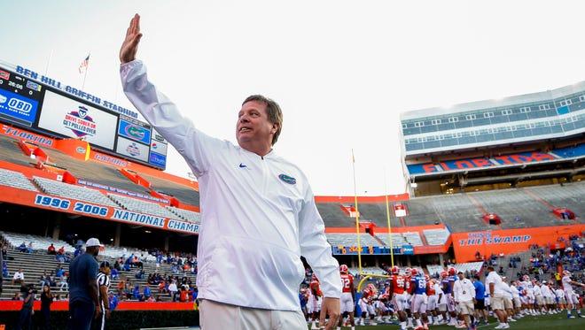 Jim McElwain said goodbye to his Florida players on Monday.
