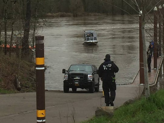 Responders pulled a woman from the Willamette River