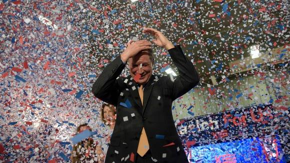 Republican Presidential hopeful Ohio Gov. John Kasich