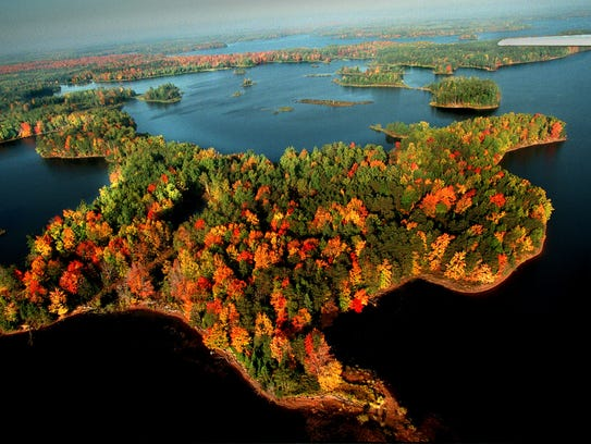 The Willow Flowage in Oneida County is a favorite for