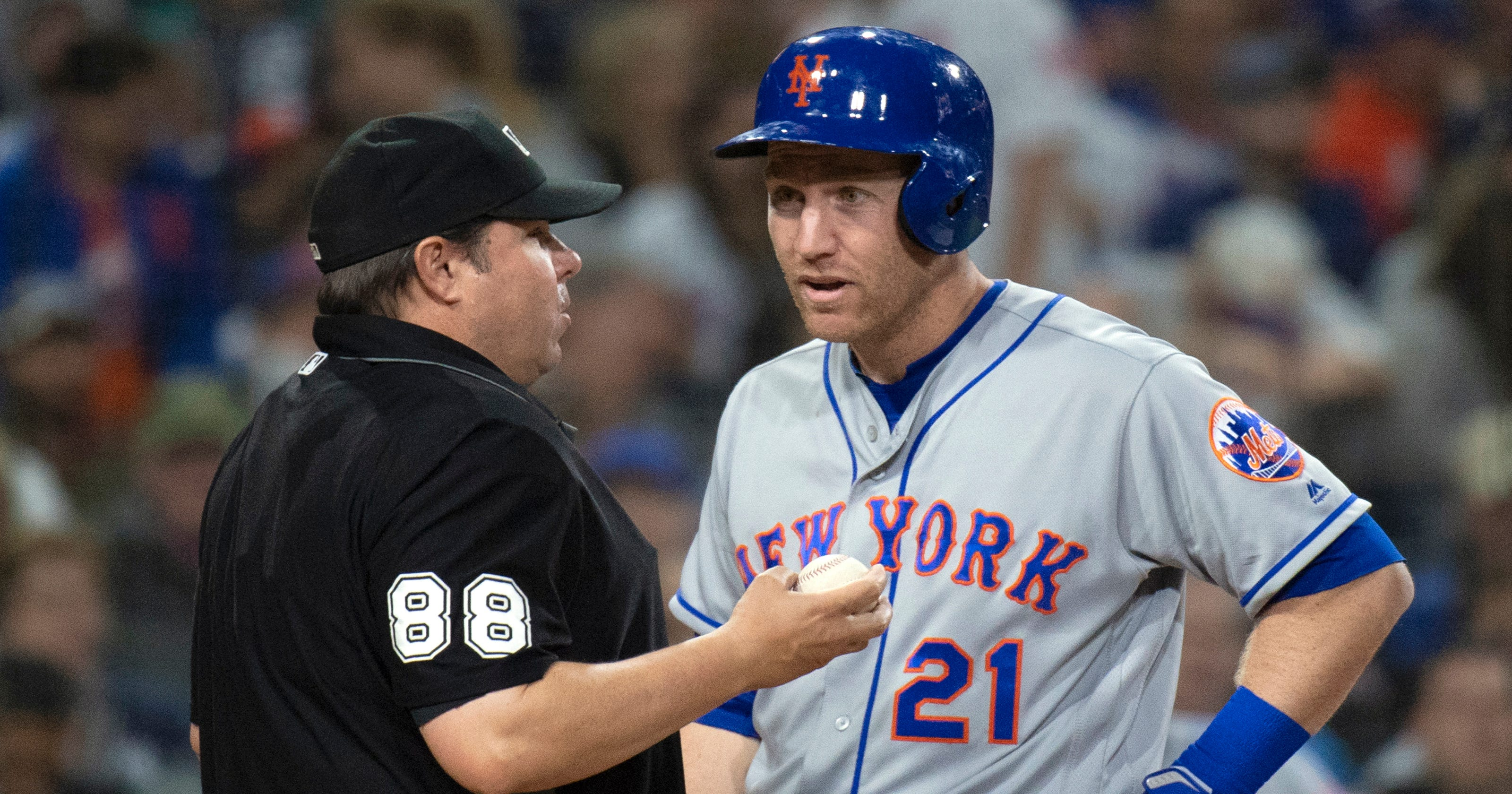 newest beddc 66110 NY Mets' Todd Frazier blasts umpires: 'I'm starting to get ...