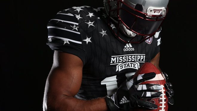 Mississippi State will wear special jerseys against Texas A&M that honor the country's military.