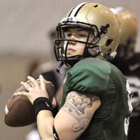 Former Purdue quarterback Robert Marve arrested on domestic battery charge in Florida