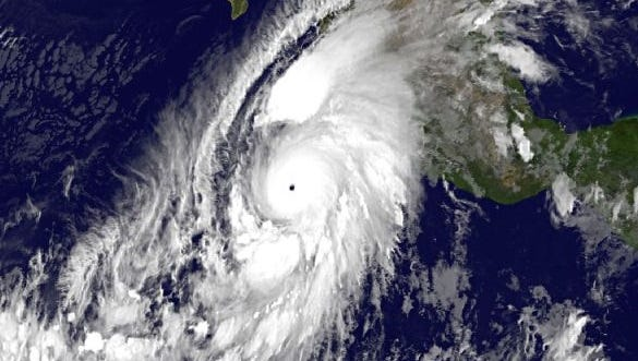 The National Hurricane Center called Patricia the strongest hurricane it has recorded in its region of responsibility.